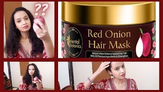 Oriental Botanics Red Onion Hair Mask Review Demo Luxury At Its best