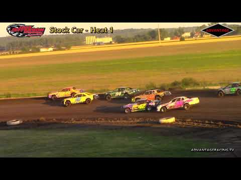 Compact/Stock Car Heats - Park Jefferson Speedway - 5/26/18