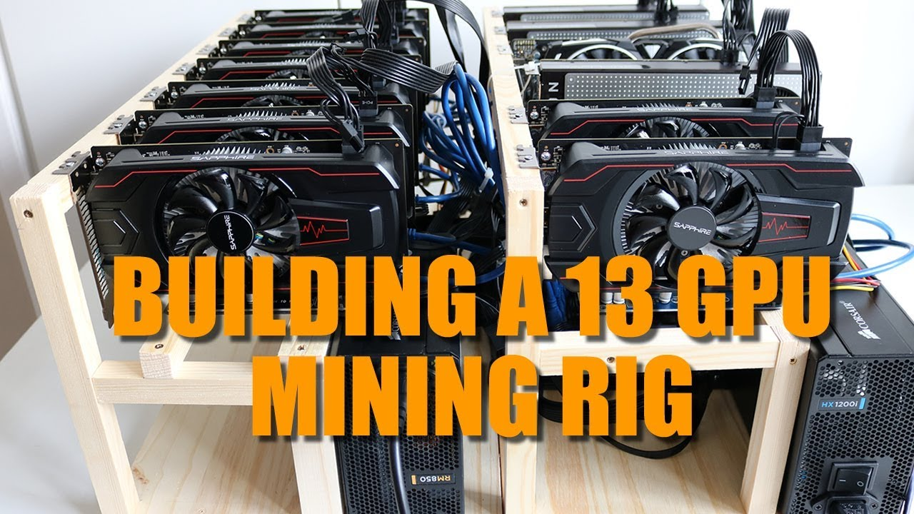 Building A 13 Gpu Mining Rig Asrock H110 Pro Btc Rx560 Rx470