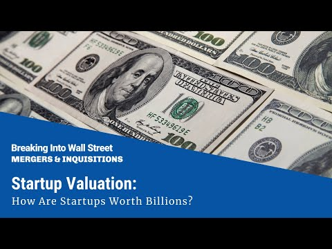 Startup Valuation - How Are Startups Worth Billions?