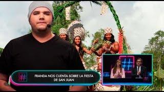 Hashtag: Franda soltó estas rimas por la Fiestas de San Juan