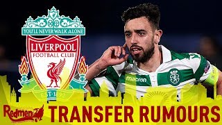 Liverpool Make Bid for Bruno Fernandes? | #LFC Transfer News LIVE