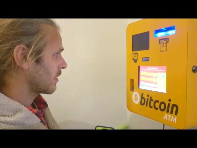 Bitcoins am Automaten kaufen