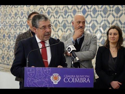 Intervenção de Manuel Machado na abertura da Anozero'17 - Bienal de Arte Contemporânea de Coimbra