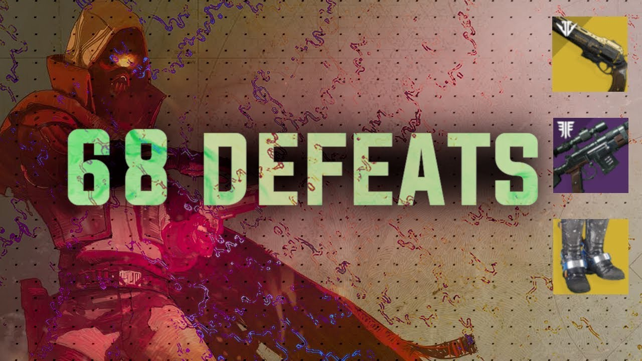 68 Defeats Post Commentary (Where are the new maps? The meta & Apex