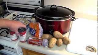 Crock-pot Recipe: Hamburger, Potatoes, Carrots And Mushrooms