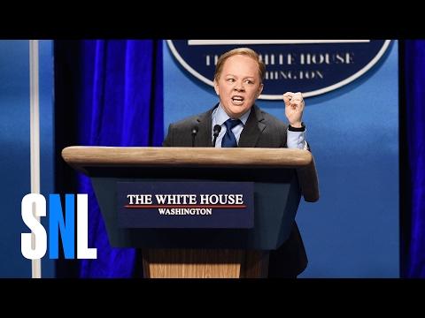 Sean Spicer Press Conference (Melissa McCarthy) - SNL
