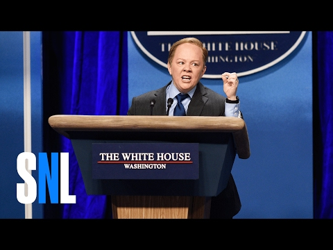 Sean Spicer Press Conference (Melissa McCarthy) – SNL