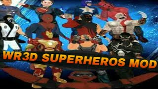 Wr3d superhero mod by《AD games 》