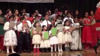 Christmas Songs by Mareendran Kids at Council of Indian Orthodox Churches, New York