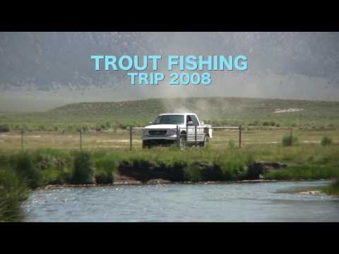 Trout Fishing 2008--Fishing Along Highway 395 To The Truckee River