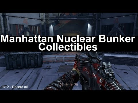 Wolfenstein 2 Collectibles - Manhattan Nuclear Bunker District