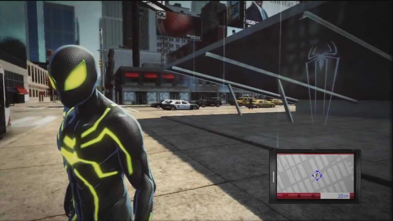 Guia De Trajes The Amazing Spiderman XBOX360PS3