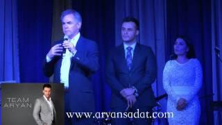 Aryan Sadat Campaigning for Jim Prentice