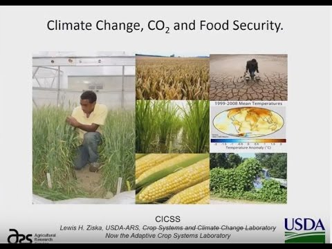 CO2, Climate Change & Food Security: Dr Lewis Ziska (April 2017)