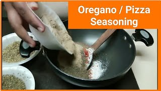 Oregano Seasoning Recipe  How to Make Pizza Seasoning ?