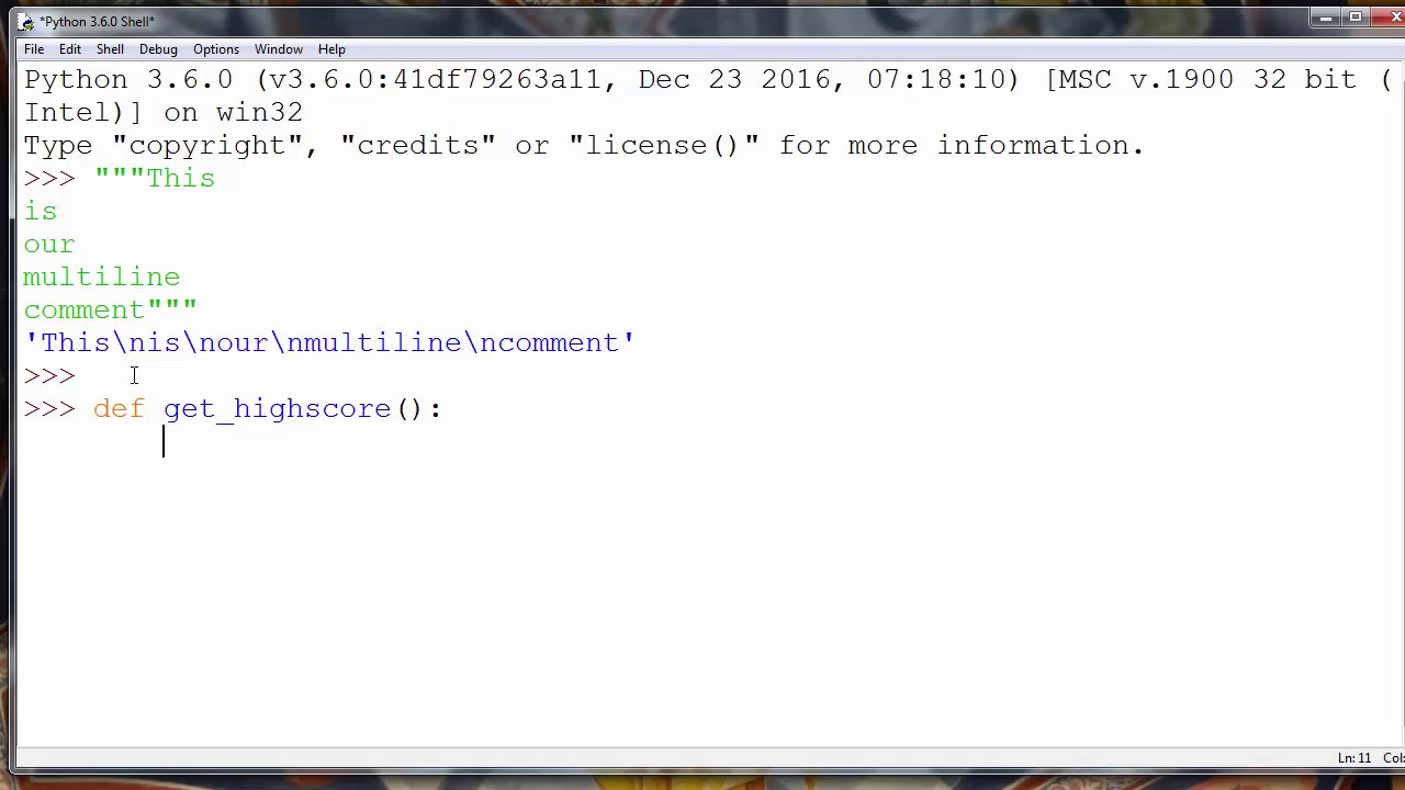 How to add multiline comments in Python and how to add documentation in  Python code
