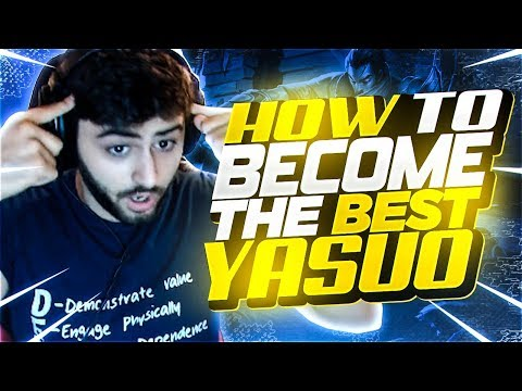 Yassuo | HOW TO BECOME THE BEST YASUO!!! (COACH MOE)