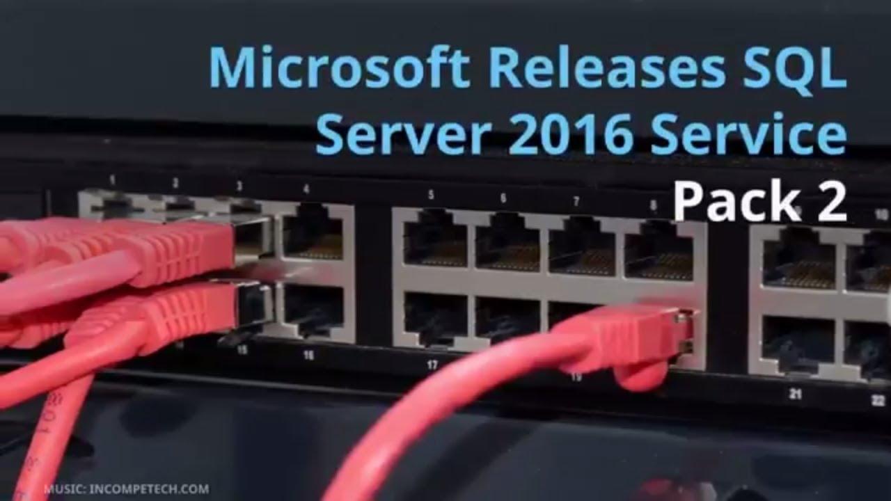 sql server 2016 service pack 2 express offline installer