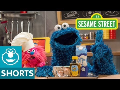 Sesame Street: Buttermilk Biscuits with Honey | Cookie Monster's Foodie Truck