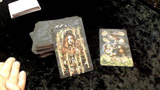 Практика значений карт Девятка жезлов и Шестерка пентаклей из Таро автора Селены знаю