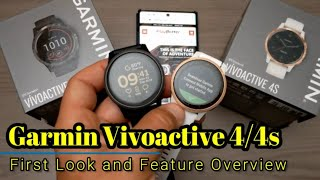 Garmin Vivoactive 4/4s - First Look and Feature Overview
