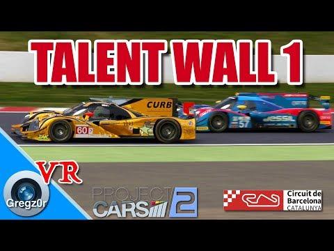 [VR] 🇪🇸 'Talent Wall.' Part 1. LMP2 Action at Barcelona.