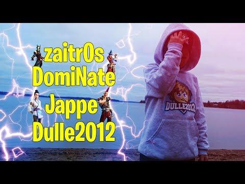 🔴 Vinst efter vinst med zaitr0s, DomiNate och Jappe🔥 | 171 wins | Fortnite Battle Royale