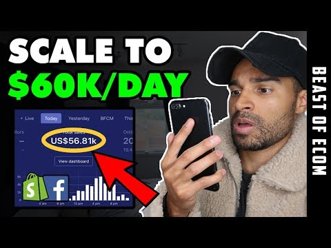 [NEW METHOD] Scale To $60K/Day With Facebook Ads | Shopify Dropshipping thumbnail