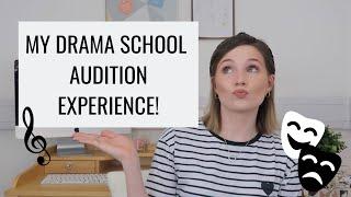 MY DRAMA SCHOOL AUDITION EXPERIENCE | STORYTIME | Georgie Ashford