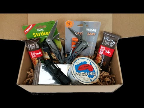 Survivalist Box : Great way to boost your economic collapse  and survival prepping