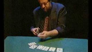 Ricky Jay - Amazing Card Trick/Manipulation