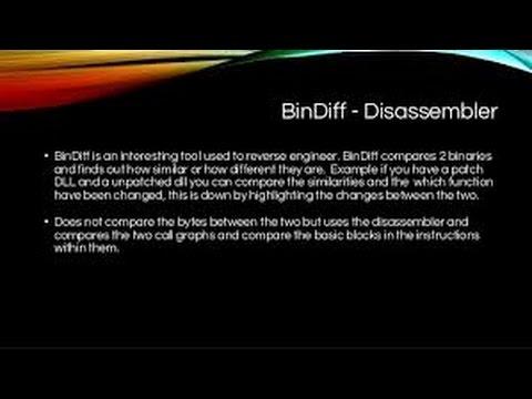 Playing whith BINDIFF in IDA Pro