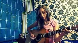 под гитару Вахтерам  (Бумбокс cover)