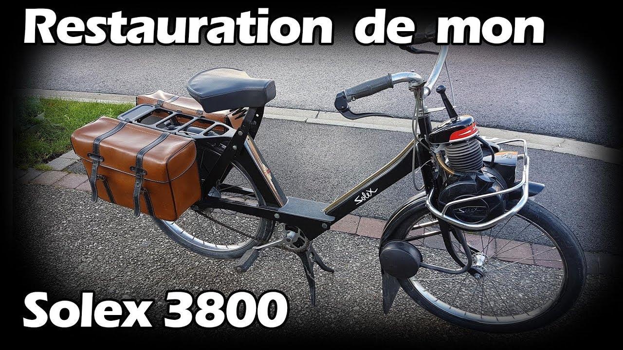 Compte Rendu De La Restauration De Mon Solex 3800
