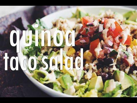 QUINOA TACO SALAD | hot for food