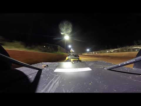 East Lincoln Speedway 9-14 -19 Stock 4 Rear Cam Main Event Alexus Motes