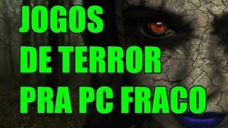 TOP 10 JOGOS DE TIRO DE TERROR PARA PC FRACO
