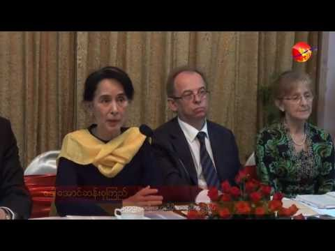 Aung San Suu Kyi Says Burma to Amend 'World's Most Difficult' Constitution