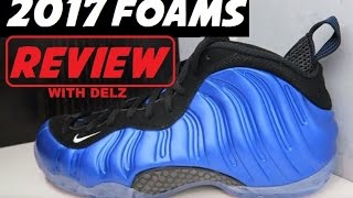 2017 NIKE AIR FOAMPOSITE ONE PENNY ROYAL SNEAKER DETAILED REVIEW