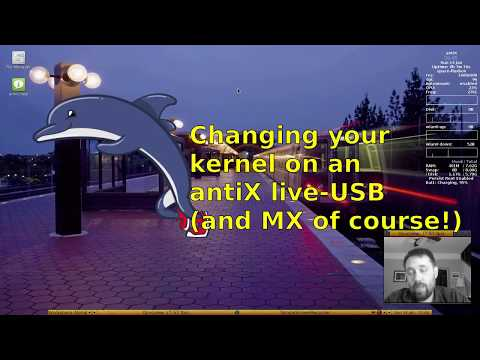 Changing your kernel on a antiX live-USB (and MX of course!)