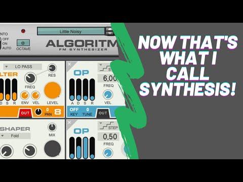 Algoritm FM Synthesizer Demos & First Impression Algortim Review