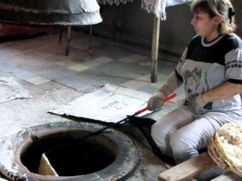 "How Armenian bread is made - ""Lavash"" AKA Cracker Bread"