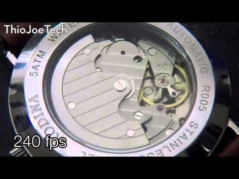 Slow Motion Watch Movement - 240fps - ThioJoeTech