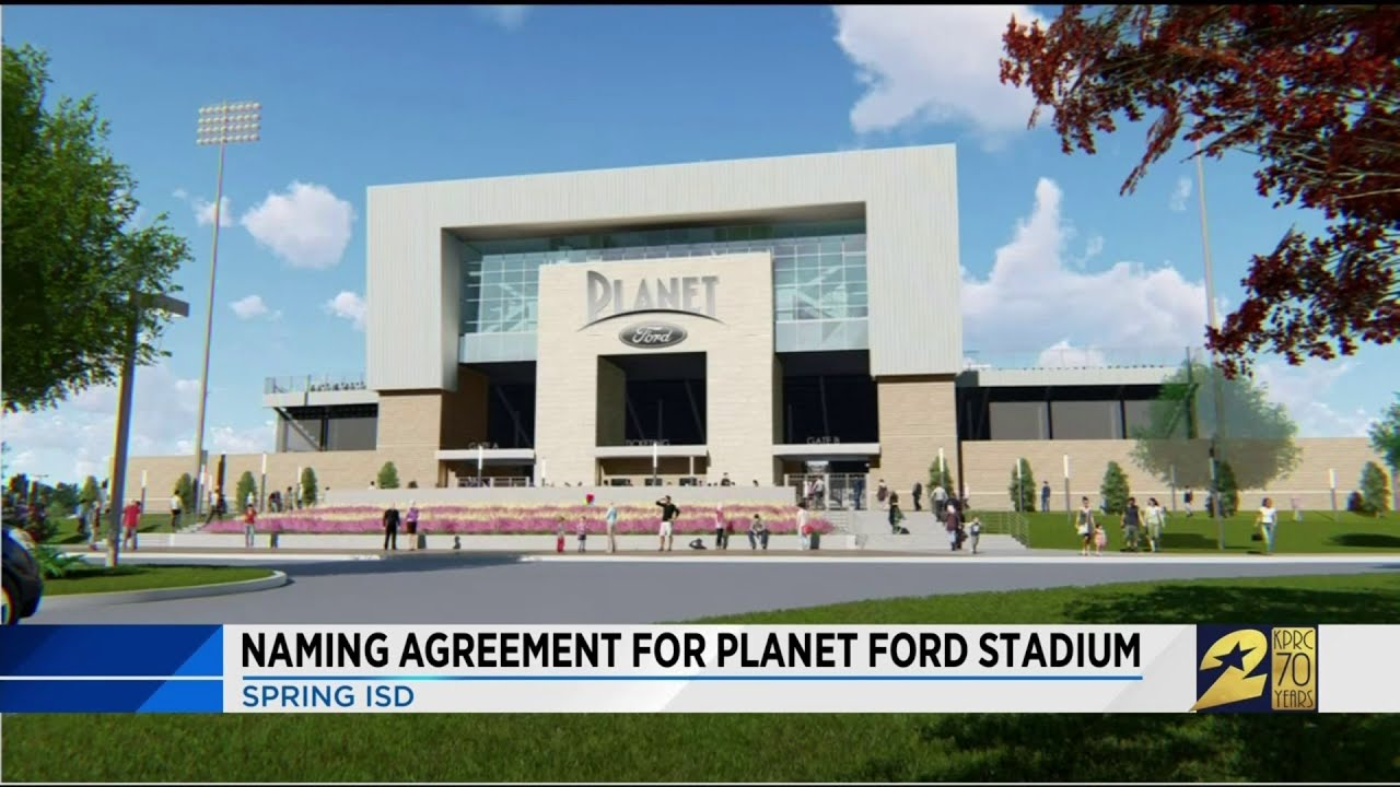Planet Ford Spring >> Naming Agreement For Planet Ford Stadium