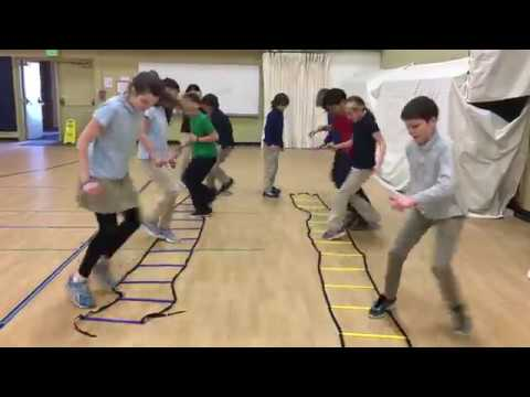 Pacific Northern Academy - Gym Class Agility Ladder