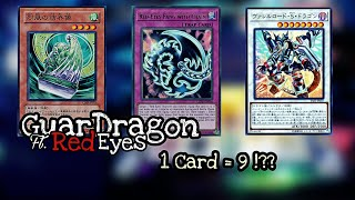 GuarDragon Red-Eyes Deck Profile And Combo ft. Ib The World Chalice Miko - 1 Card Shenanigans