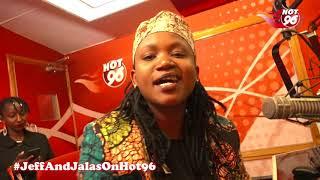 Fena Gitu singing her latest song Ndigithia