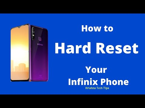How to Hard Reset any Infinix Smartphone