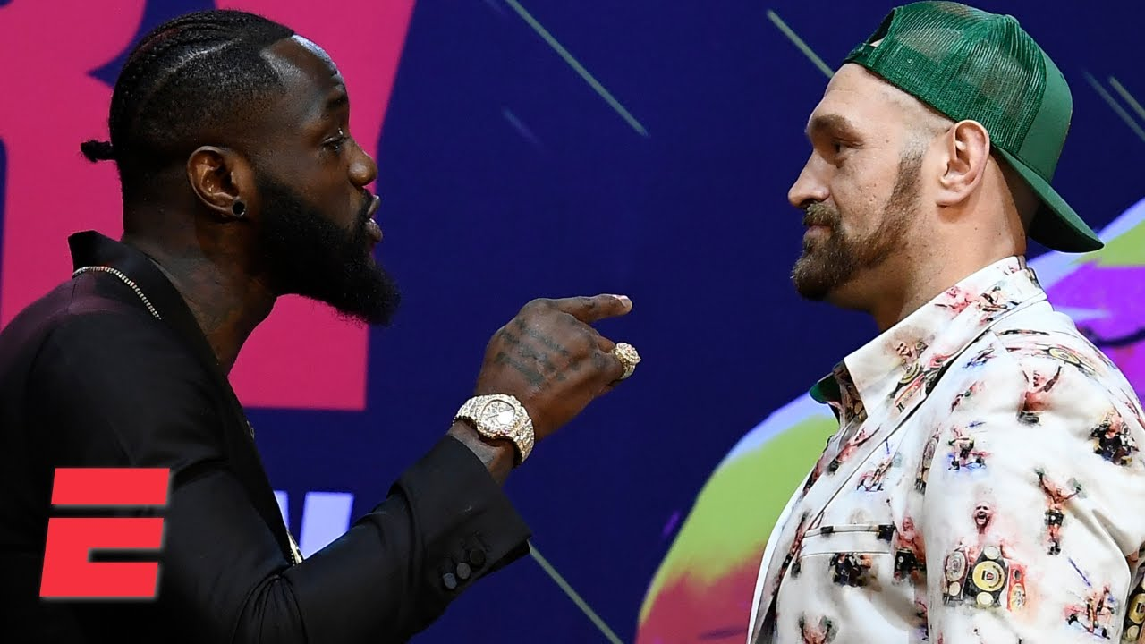 Deontay Wilder vs. Tyson Fury II press conference | Boxing on ESPN - YouTube